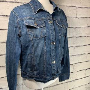 {Maurice's} denim jean jacket